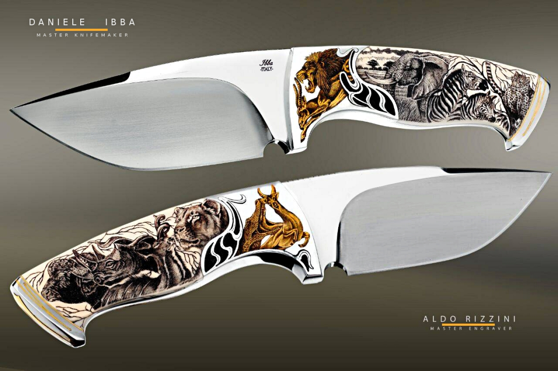 ibba custom knives - engraved page - ibba coltelli - pagina coltelli incisi