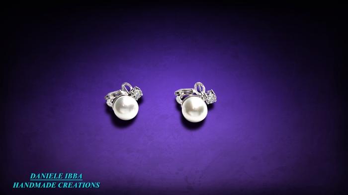 Orechhini perle+brill