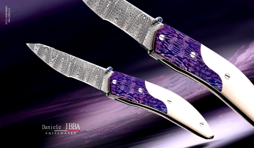 Custom knife by Ibba Daniele - Mizar