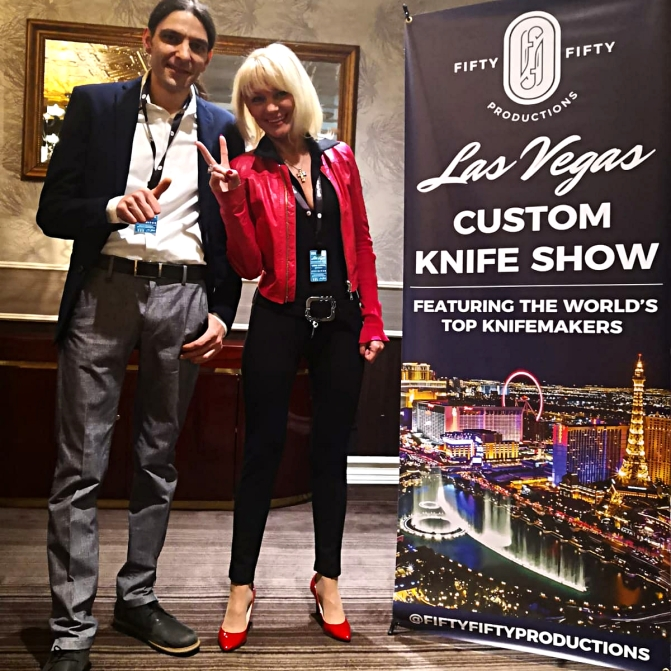 Daniele Ibba and Lana Gorska - Las Vegas 2019