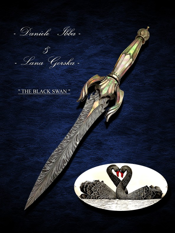 Black Swan Art Dagger