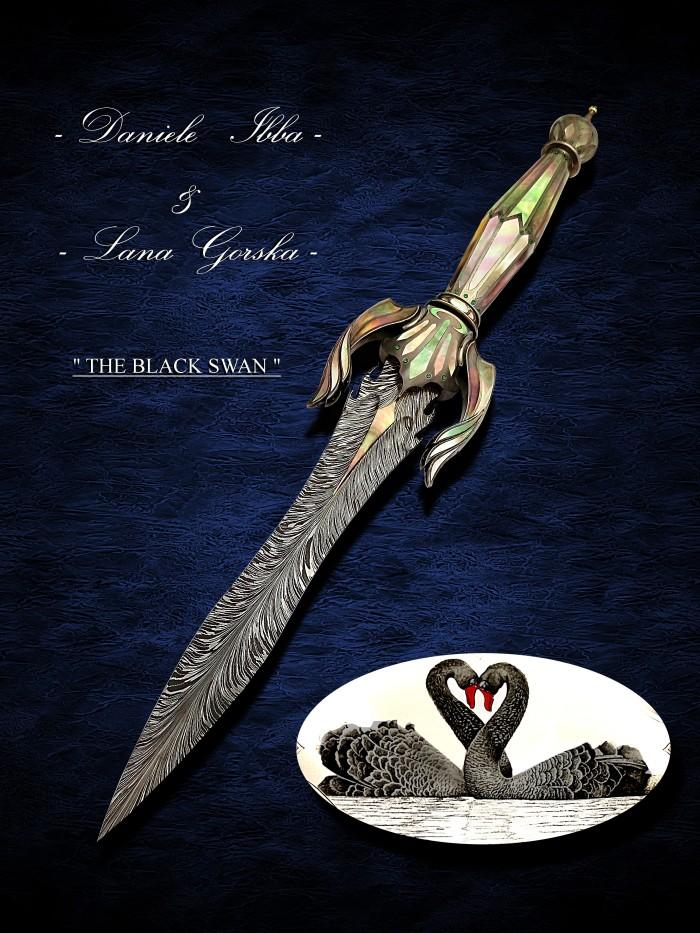 Black Swan Art Dagger