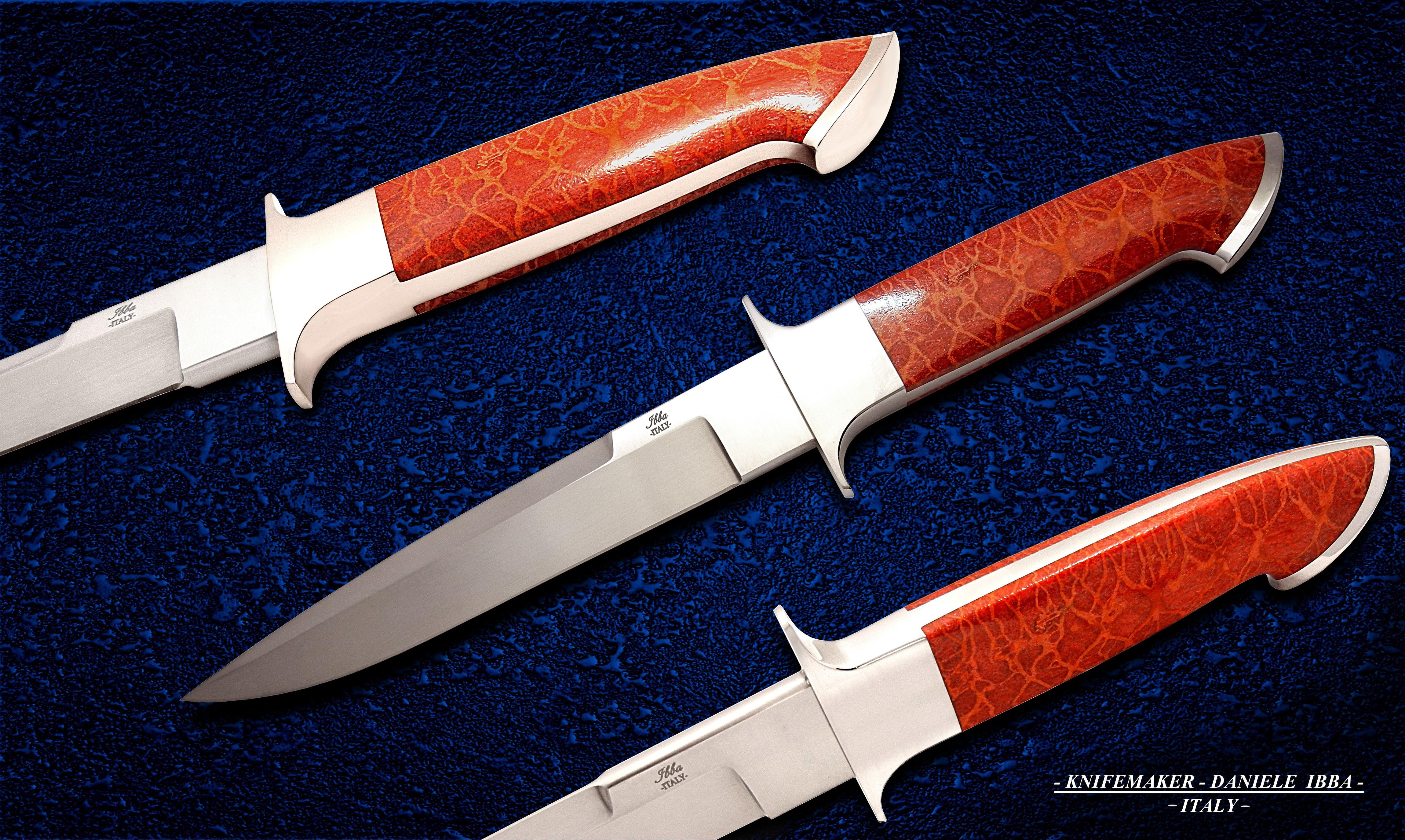 Intrepid- Ibba custom knives